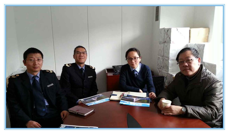 协会秘书长走访上海市卫生局卫生监督所